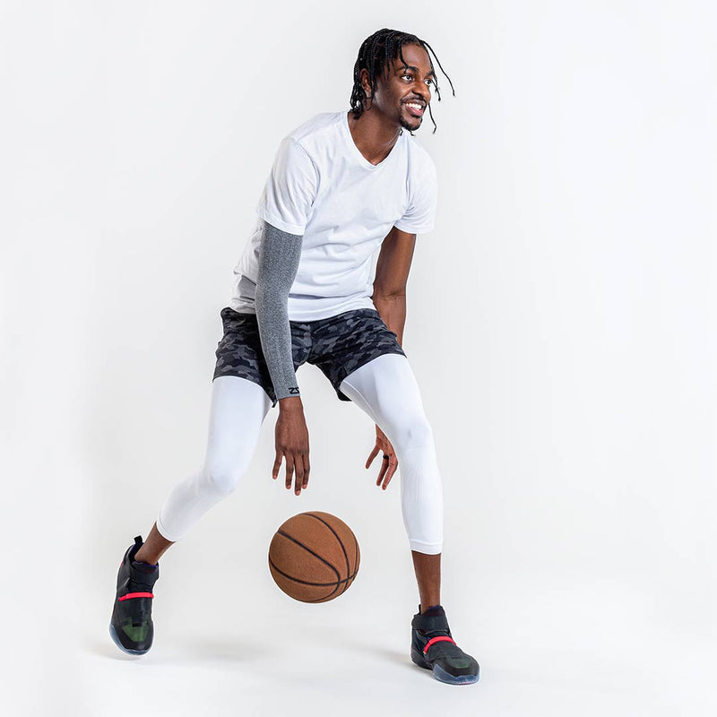 Justin Holiday Collection: Base Layer 3/4 Compression CaprisCompression Bottoms - Zensah