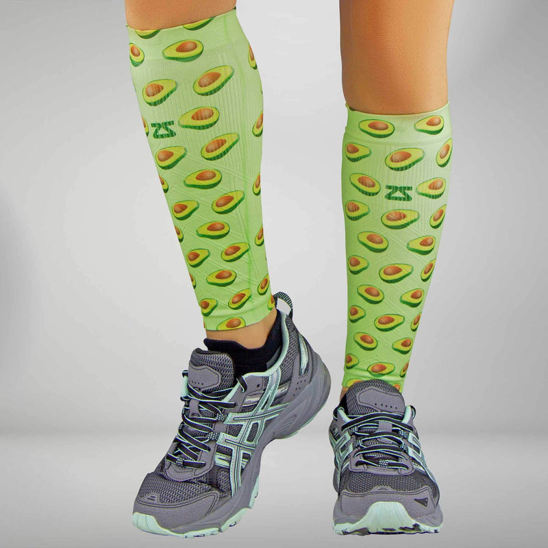 Avocado Compression Leg Sleeves
