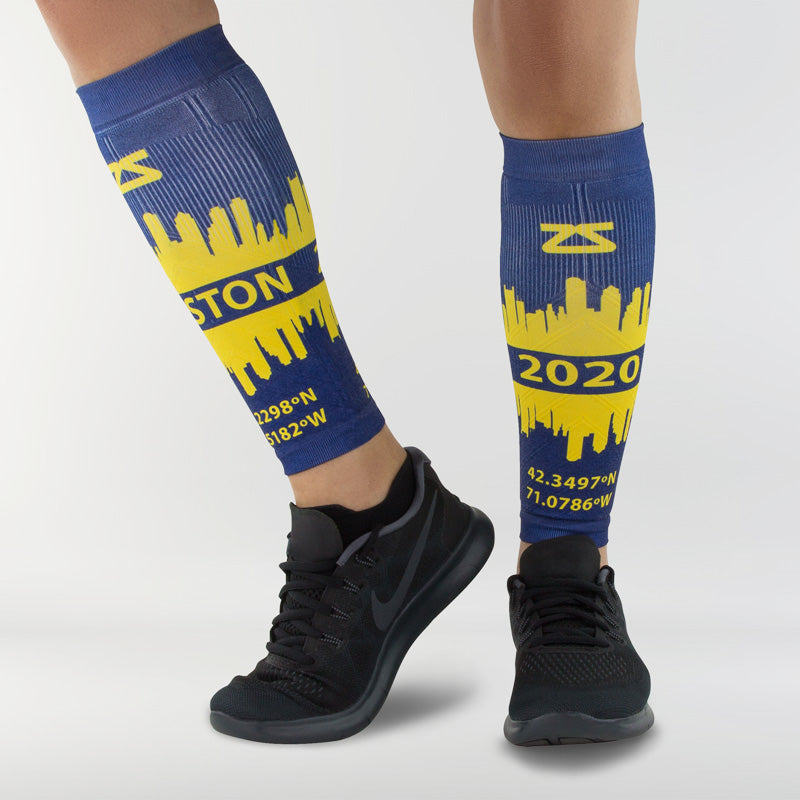 Boston Skyline Compression Leg Sleeves