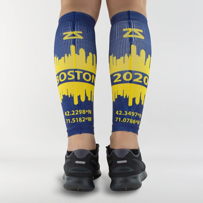 Boston Skyline Compression Leg SleevesLeg Sleeves - Zensah