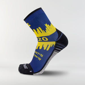 Boston Skyline Socks (Mini-Crew)