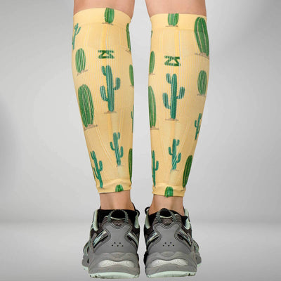 Cactus Compression Leg SleevesLeg Sleeves - Zensah