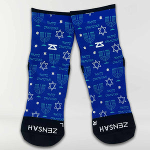 Chanukah Socks (Mini-Crew)Socks - Zensah