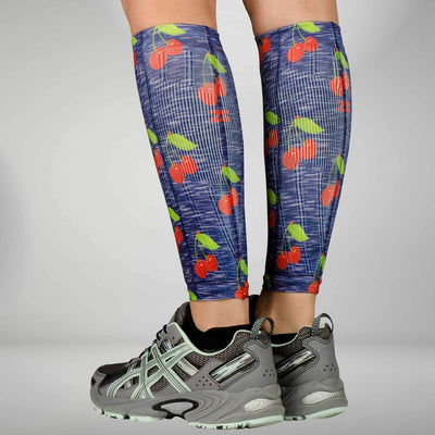 Cherries Compression Leg Sleeves