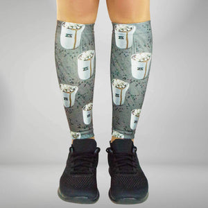 Hot Chocolate Compression Leg Sleeves