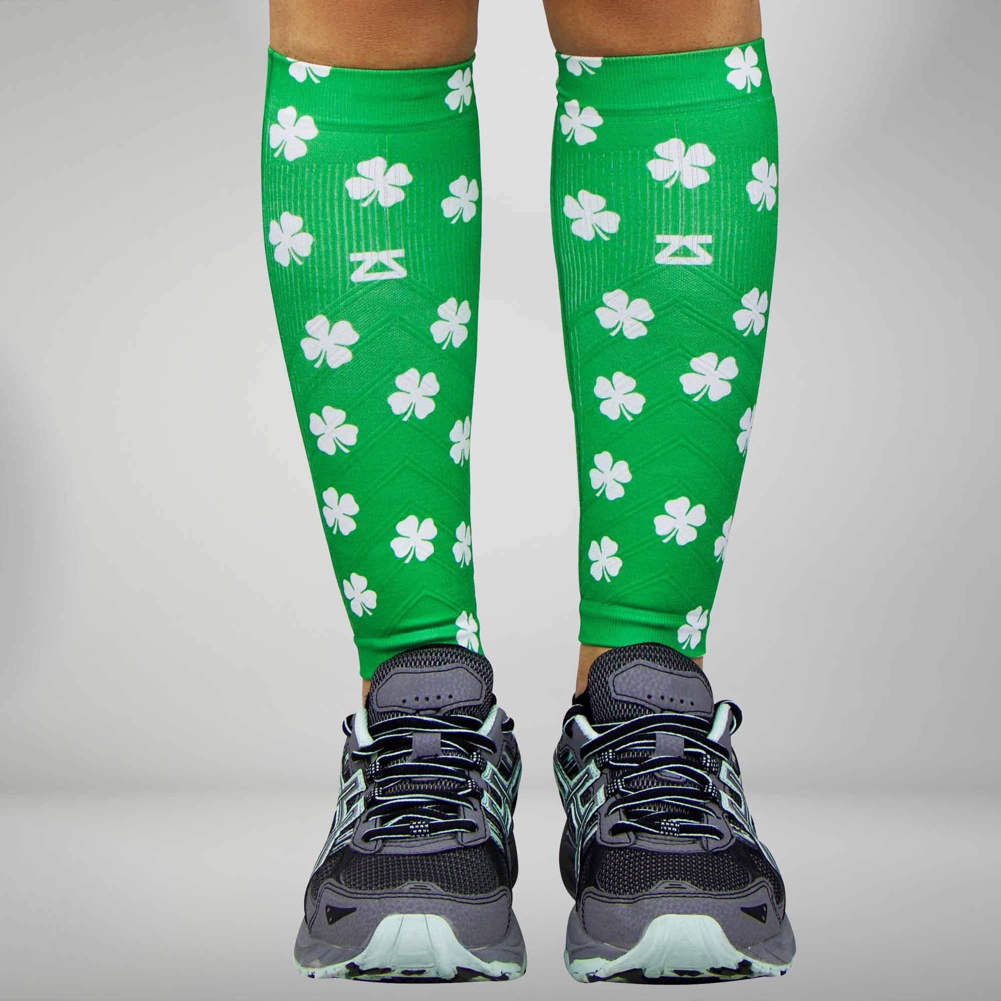 St. Patrick's Day Compression Leg Sleeves