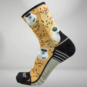 Coffee Socks (Mini Crew)Socks - Zensah