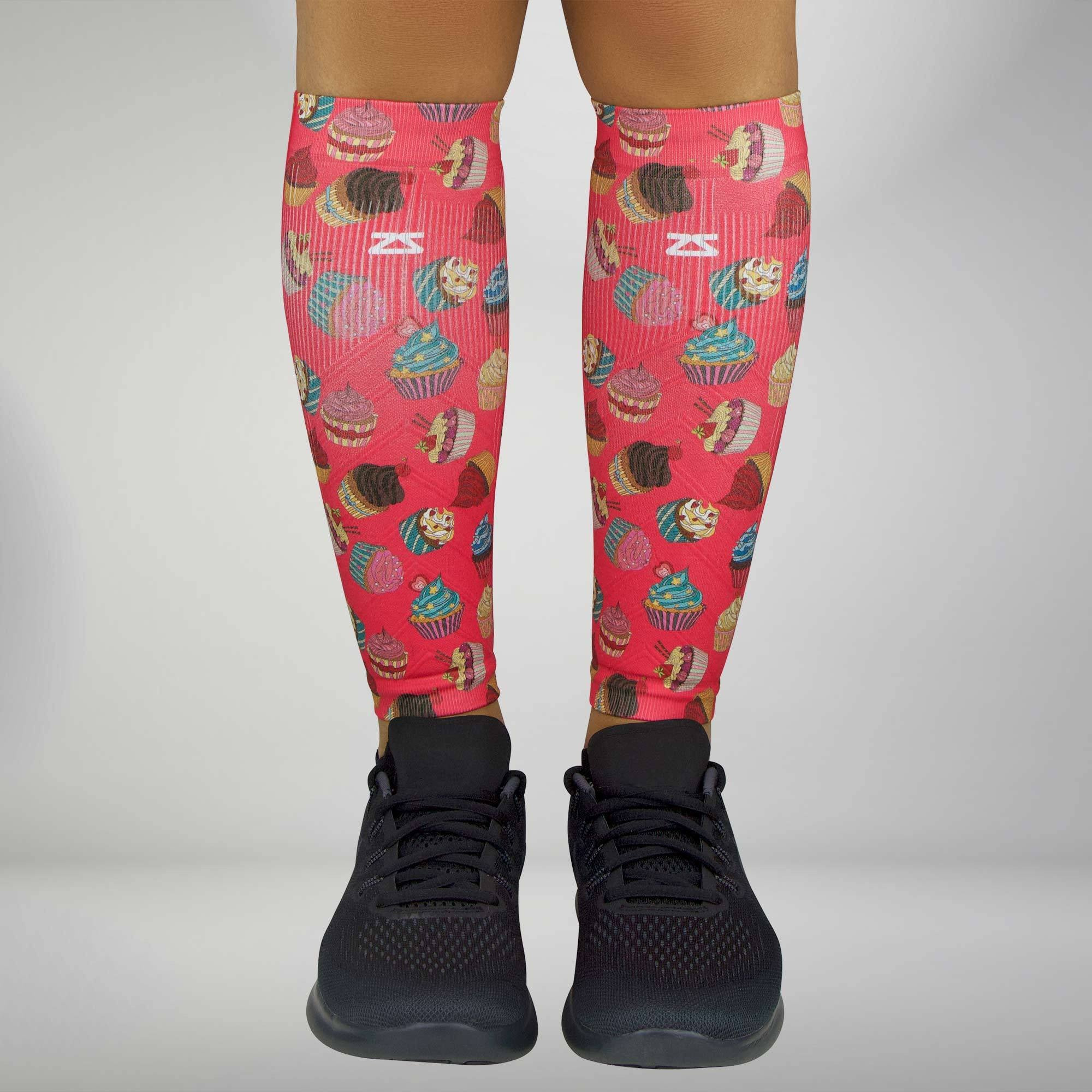 Cupcakes Compression Leg Sleeves