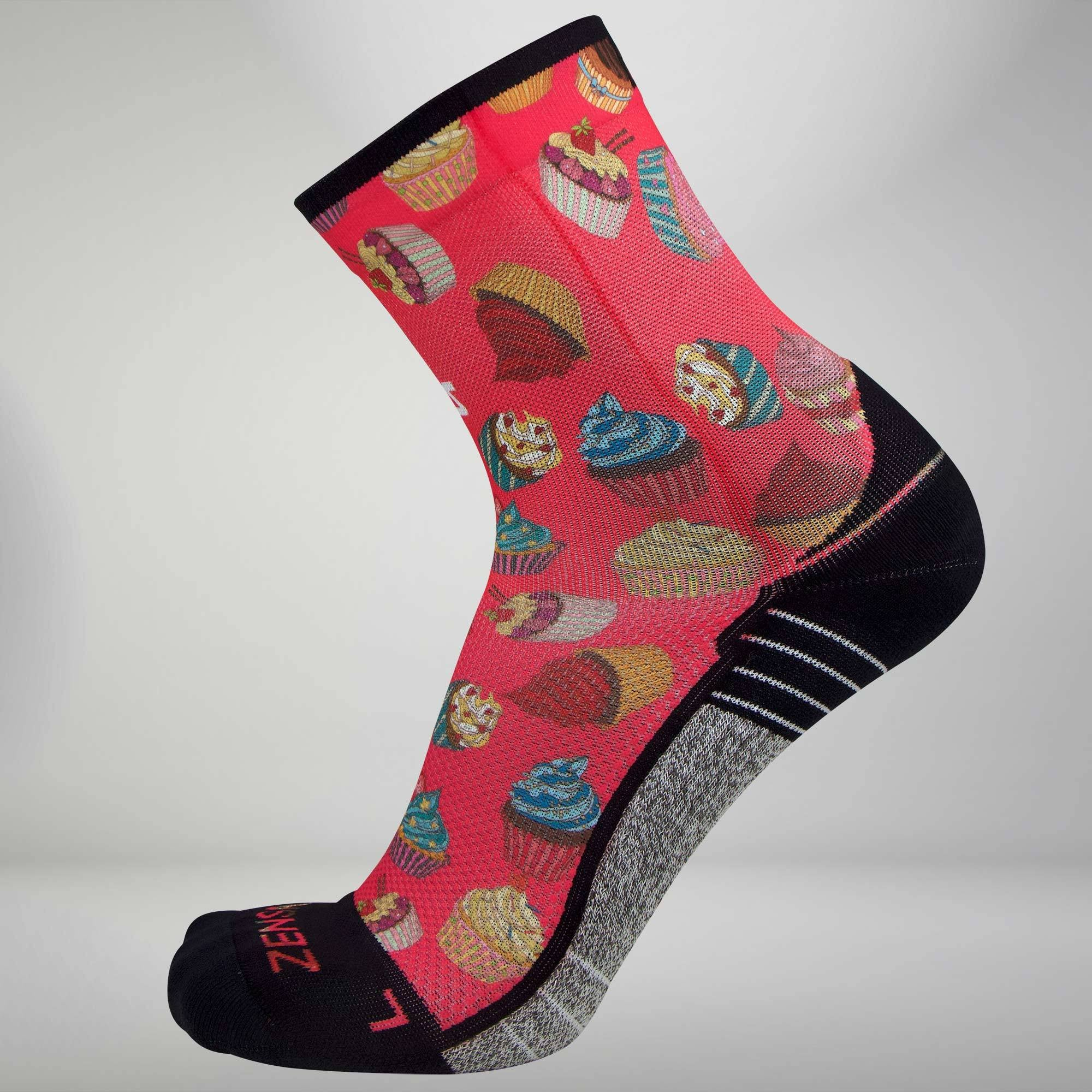 Cupcakes Socks (Mini Crew)