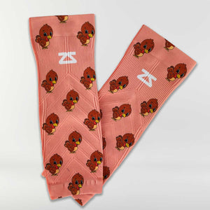 Cute Turkeys Compression Leg Sleeves