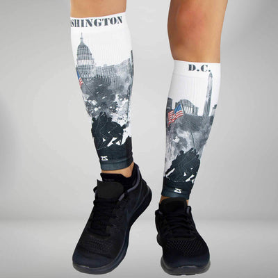 DC Skyline Compression Leg SleevesLeg Sleeves - Zensah