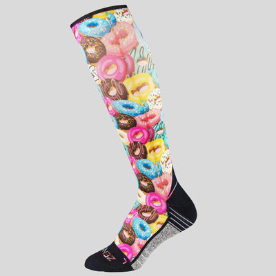 Frosted Donuts Compression Socks (Knee-High)
