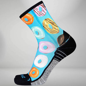Donut Running Socks (Mini Crew)