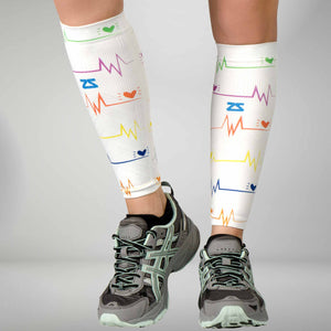 EKG Compression Leg Sleeves