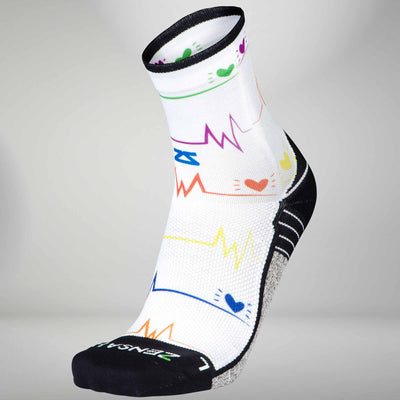 EKG Running Socks (Mini Crew)Socks - Zensah