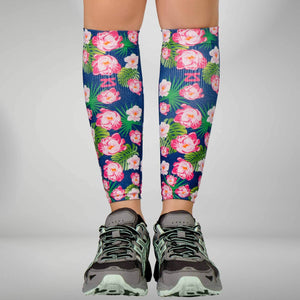 Floral Compression Leg Sleeves