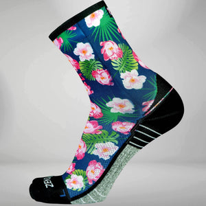 Floral Socks (Mini-Crew)