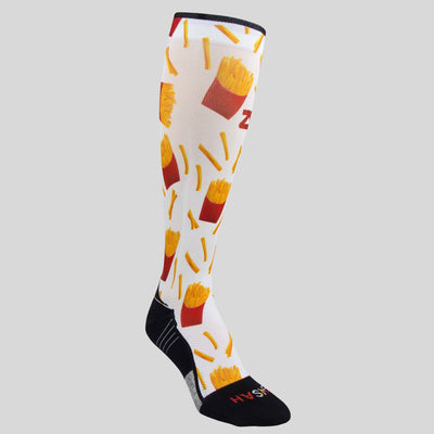 French Fries Compression Socks (Knee-High)