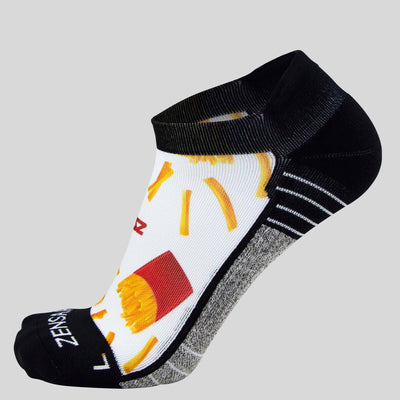 French Fries Socks (No Show)