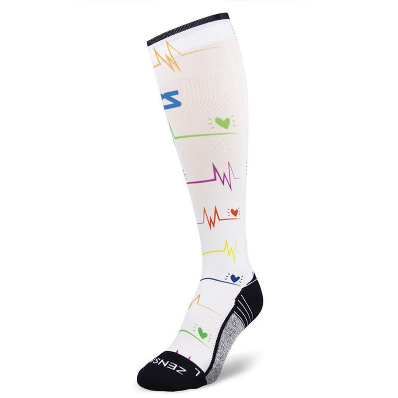 EKG Compression Socks (Knee High)