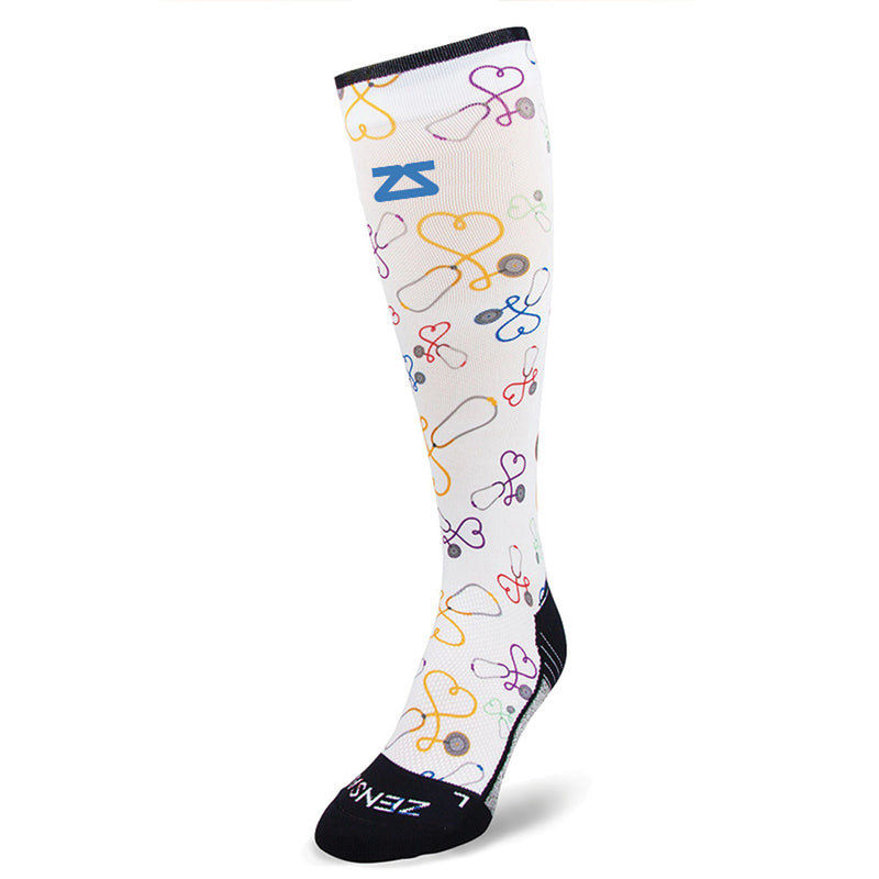 Stethoscopes Compression Socks (Knee High)
