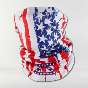 Rugged USA Flag Multi-Use Neck Gaiter & Headwear