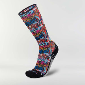 Street Art Compression Socks (Knee-High)