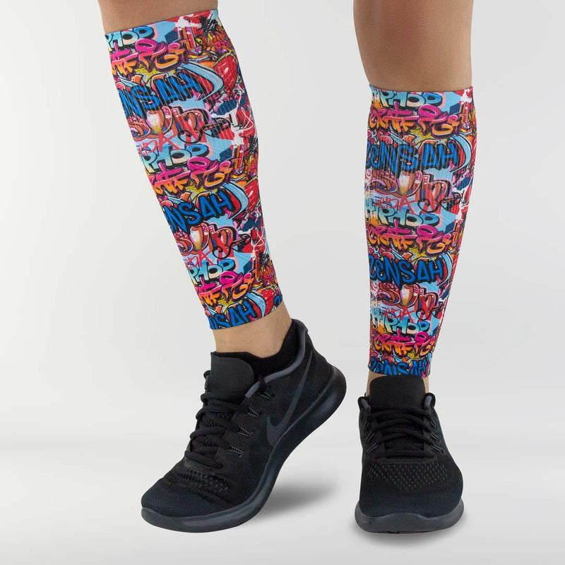 Street Art Compression Leg Sleeves