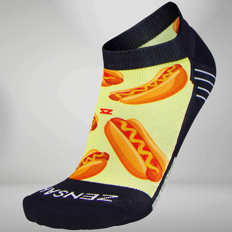 Hot Dog Socks (No Show)