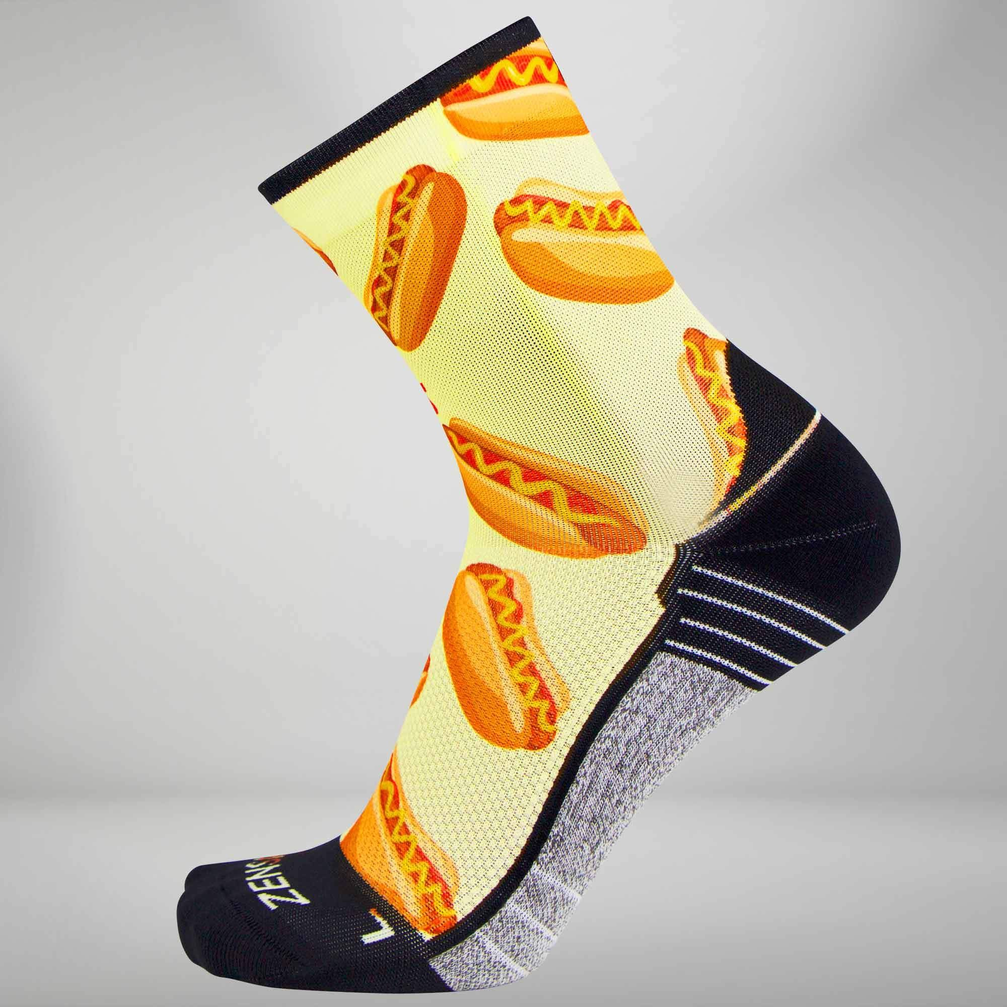 Hot Dog Socks (Mini Crew)