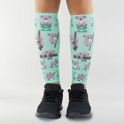 Koala Compression Leg SleevesLeg Sleeves - Zensah