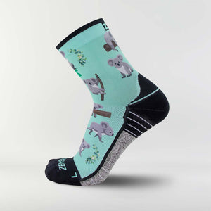 Koala Running Socks (Mini-Crew)