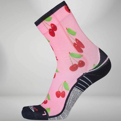 Cherries Socks (Mini-Crew)