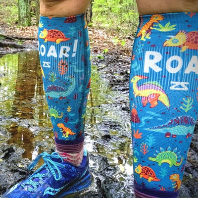 Dinosaurs Compression Leg Sleeves