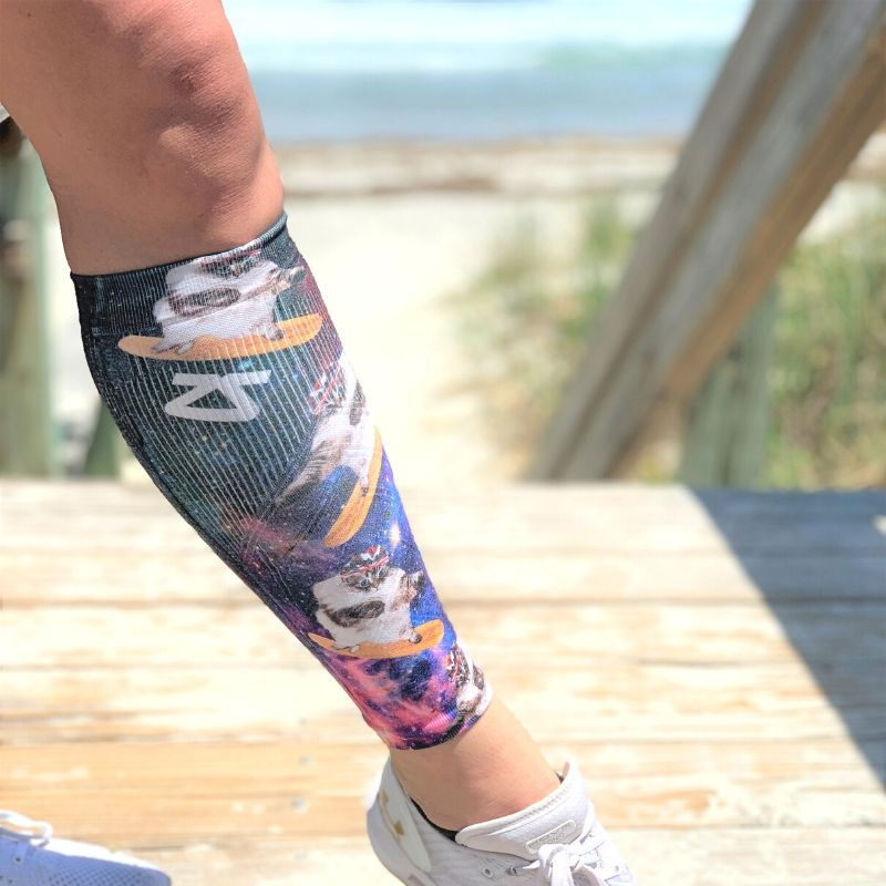 Space Cats Compression Leg SleevesLeg Sleeves - Zensah