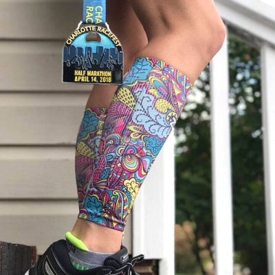Groovy Compression Leg SleevesLeg Sleeves - Zensah
