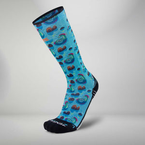 Loch Ness Monsters Socks (KNEE-HIGH)Socks - Zensah