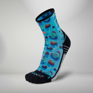 Loch Ness Monsters Socks (Mini-Crew)