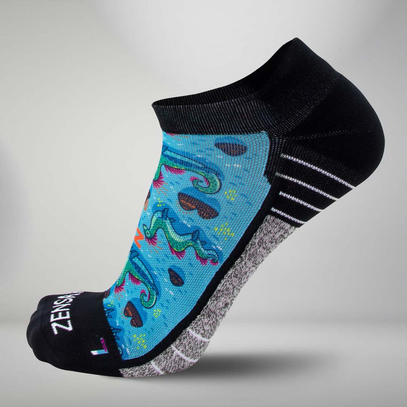 Loch Ness Monsters Socks (No Show)Socks - Zensah