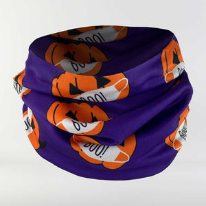 Masked Pumpkins Multi-Use Neck Gaiter & Headwear