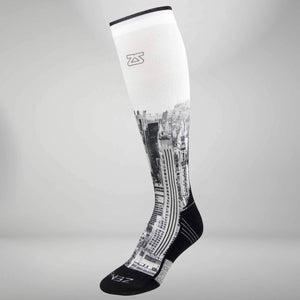 NYC Empire State Compression Socks (Knee-High)