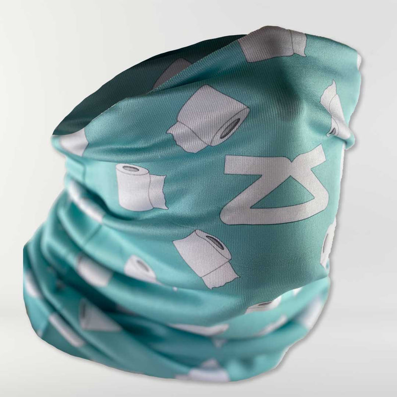 Toilet Paper Rolls Multi-Use Neck Gaiter & Headwear - Zensah