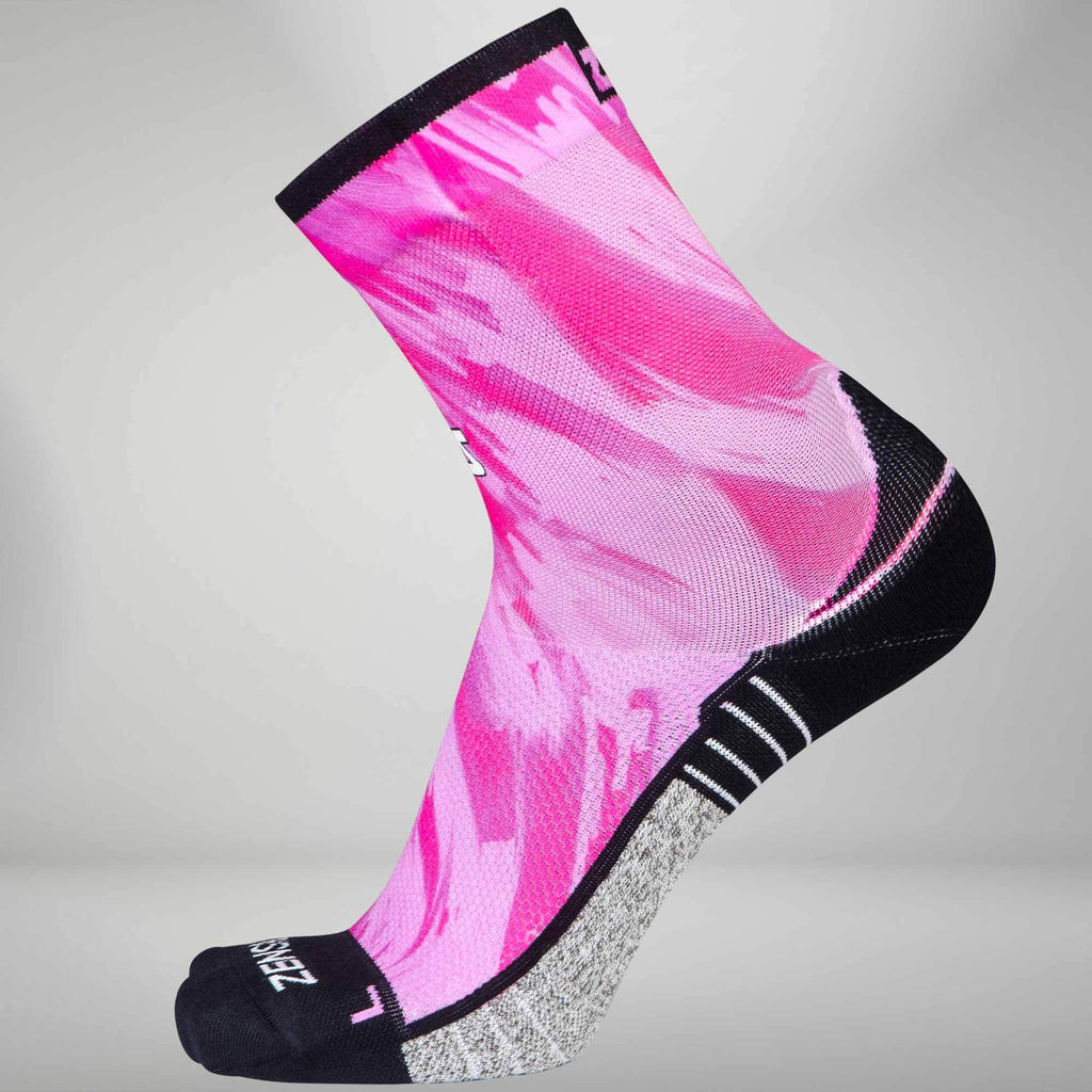 Paint Strokes Socks (Mini Crew)
