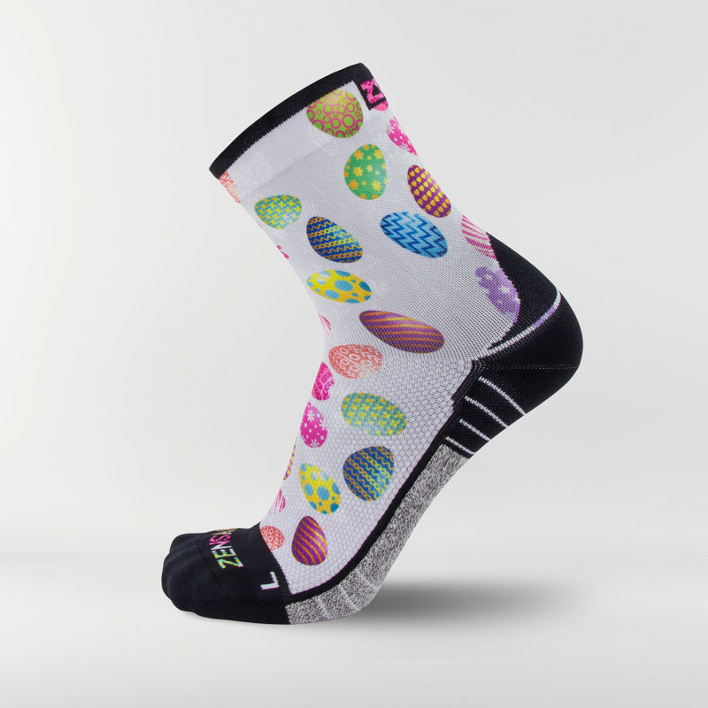Painted Easter Eggs Socks (Mini-Crew)