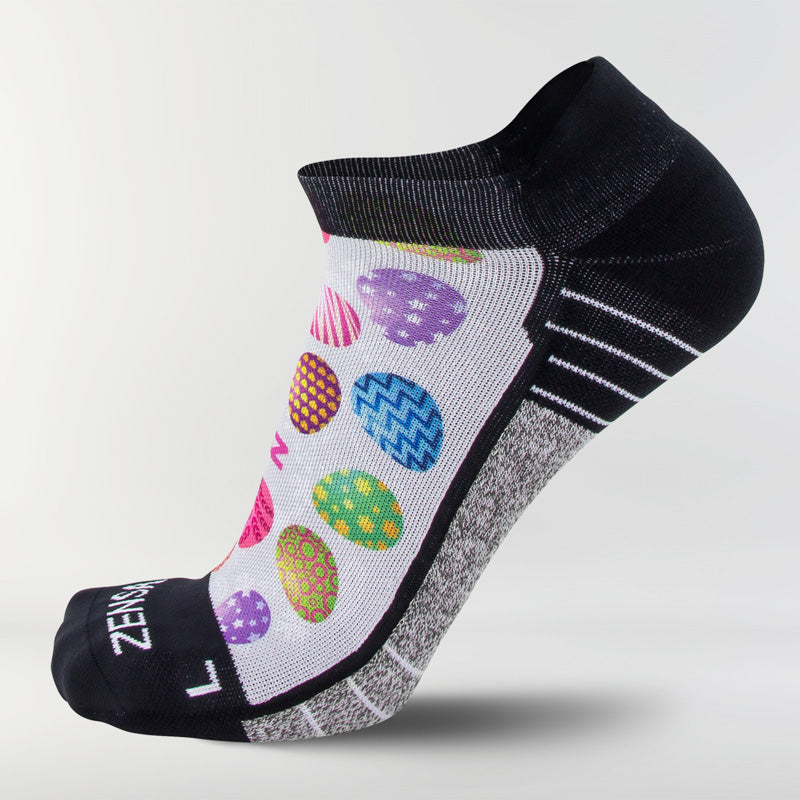 Painted Easter Eggs Socks (No-Show)