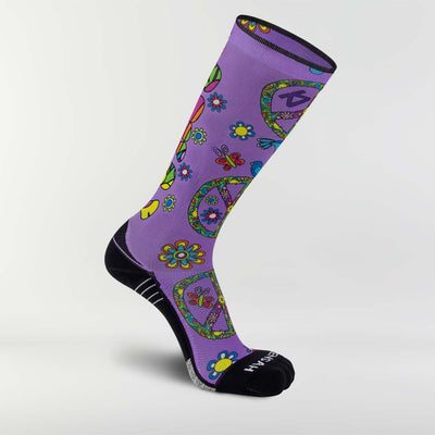 Peace Signs Compression Socks (Knee-High)Socks - Zensah