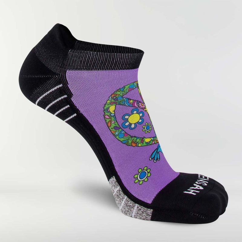 Peace Signs Running Socks (No Show)Socks - Zensah