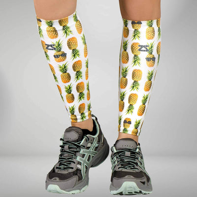 Pineapple Compression Leg Sleeves