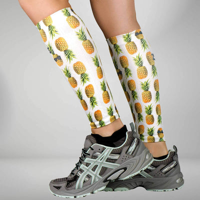Pineapple Compression Leg SleevesLeg Sleeves - Zensah