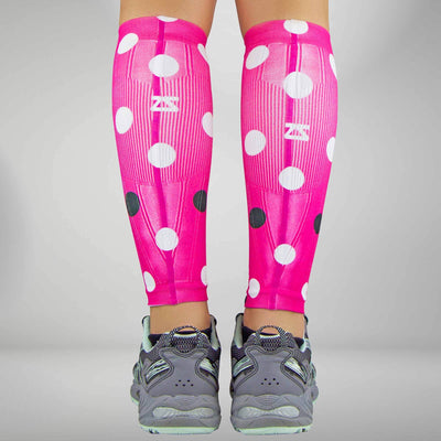 Polka Dot Compression Leg Sleeves